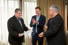 Robert Kelemen, Colm O'Reilly és Abert Zieger